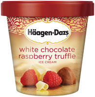 Häagen-Dazs White Chocolate Raspberry Truffle Ice Cream