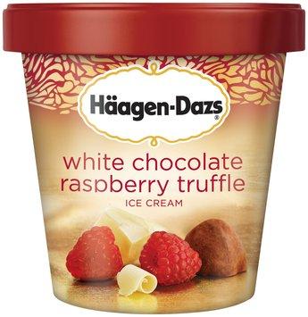 Häagen-Dazs White Chocolate Raspberry Truffle Ice Cream