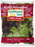 Earthbound Farm® Organic Baby Romaine 5 oz. Bag