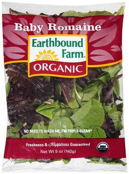 Earthbound Farm® Organic Baby Romaine 5 oz. Bag