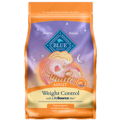 THE BLUE BUFFALO CO. BLUE™ Weight Control Chicken & Brown Rice Recipe For Adult Cats