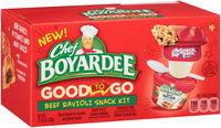 Chef Boyardee® Good to Go Beef Ravioli Snack Kit 11.84 oz. Box