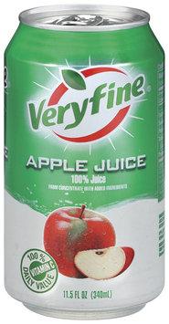 Veryfine Apple 100% Juice 11.5 Oz Pull-Top Can