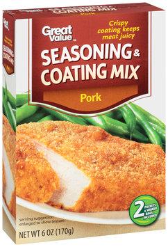 Great Value™ Pork Seasoning & Coating Mix