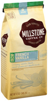 Millstone® French Vanilla Flavored Decaf Ground Coffee 12 oz. Bag