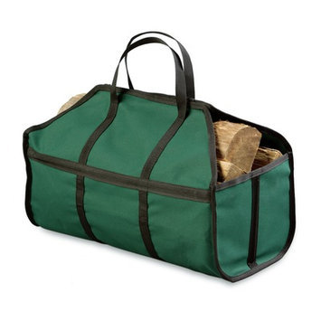 Plow & Hearth Stand Up Log Carrier