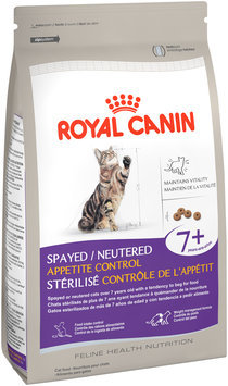 Royal Canin® Feline Health Nutrition Spayed/Neutered Appetite Control 7+ Dry Cat Food 6 lb. Bag