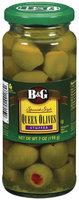 B&G Spanish Style Queen Stuffed Olives 7 Oz Jar
