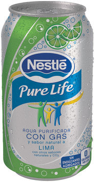 Nestlé Pure Life Sparkling Purified Water Lime