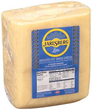 Jarlsberg® Lite Reduced Fat Swiss Cheese 5 lb. Loaf, Random Weight