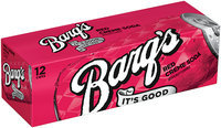 Barq's Red Creme Soda 12-12 fl oz Cans