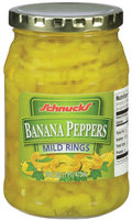 Schnucks® Banana Peppers Mild Rings 16 fl. oz.