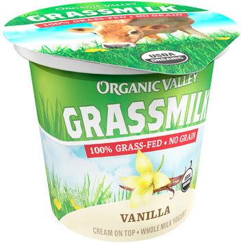 Organic Valley® Grassmilk™ Organic Vanilla Whole Milk Yogurt Cup