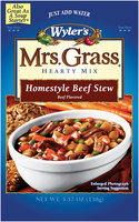 Wyler's® Mrs. Grass® Homestyle Beef Stew Hearty Soup Mix 5.75 oz. Pouch