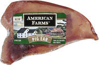 American Farms™ Original Pig Ear 1 ct Wrapper