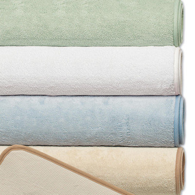 Violet Linen Microfiber Absorbing Bath Mat