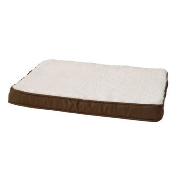 Alphapooch Orthopedic Lounger Dog Pillow Color: Coco, Size: Large (40