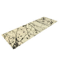 Kess Inhouse Boughs Neutral by Iris Lehnhardt Yoga Mat