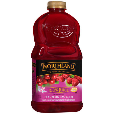 Northland® Cranberry Raspberry 100% Juice 64 fl. oz. Bottle