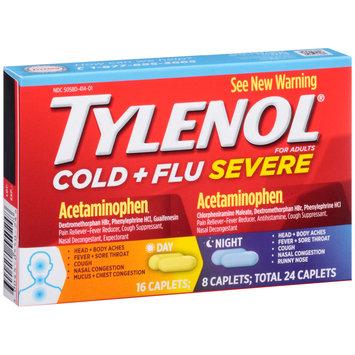 Tylenol® Cold + Flu Severe Day/Night Caplets 24 ct Box