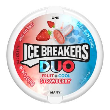 ICE BREAKERS DUO MINTS STRAWBERRY