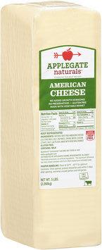 Applegate Naturals® American Cheese 5 lb. Brick