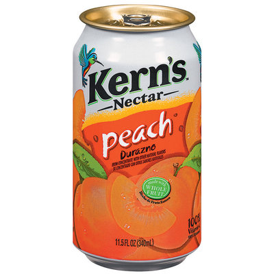 Kern's Peach Nectar 11.5 Fl Oz Can