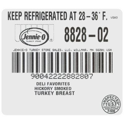 Jennie-O Turkey Store® Deli Favorites Hickory Smoked Turkey Breast