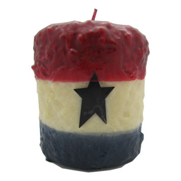 Starhollowcandleco Americana Pillar Candle