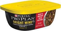 Purina Pro Plan Bright Mind Beef & Brown Rice Entree Dog Food 10 oz. Tub