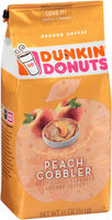 Dunkin' Donuts® Peach Cobbler Ground Coffee 11 oz. Bag