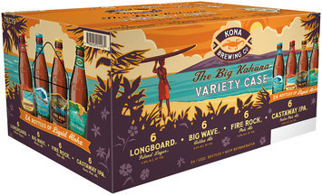 Kona Brewing Co.® The Big Kahuna® Variety Case 24-12  fl. oz. Bottles