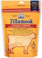 Tillamook® Finely Shredded Italian 3 Cheese 8 oz. Pouch