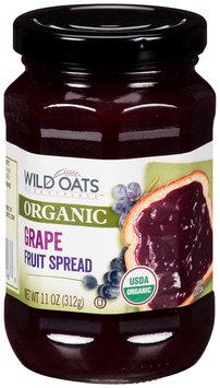 Wild Oats Marketplace™ Organic Grape Fruit Spread 11 oz. Jar