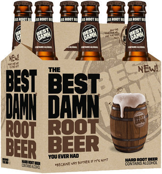 Best Damn Hard Root Beer 6-12 fl. oz. Bottles