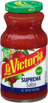 La Victoria® Mild Suprema®  Salsa 16 oz. Jar