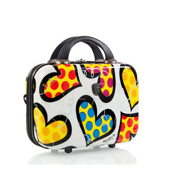 Heys Luggage, Britto Hearts Carnival 7-in. Hardside Cosmetic Case