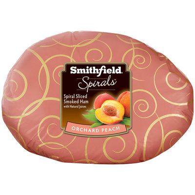 Smithfield® Spirals™ Orchard Peach Spiral Sliced Smoked Ham