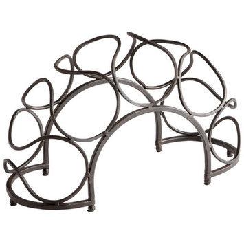 Cyan Design 05815 Bridge Wine Rack in Black Bronze