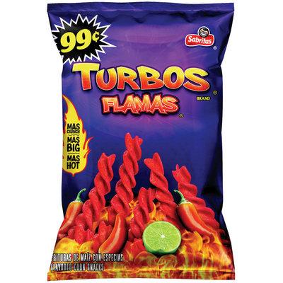Sabritas Turbos Flamas 99 Cent Corn Snacks 2.875 Oz Bag