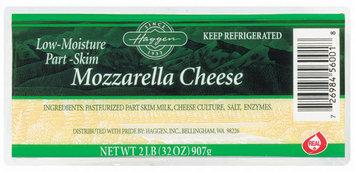 Haggen Mozzarella Low-Moisture Part-Skim Cheese