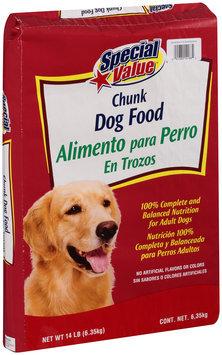 Special Value® Chunk Dog Food 14 lb. Bag