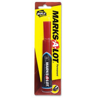 Avery Red Marks-A-Lot Chisel Tip Permanent Marker