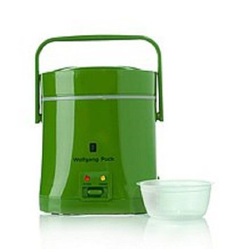 Wolfgang Puck Everyday Essentials 1.5-Cup Perfect Portable Rice Cooker Finish: Green