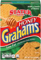 Stater Bros.® Honey Grahams Low Fat Graham Crackers 14.4 oz. Box