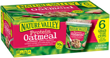 Nature Valley™ Cranberry Apple Crunch Protein Oatmeal 6-2.58 oz. Cups