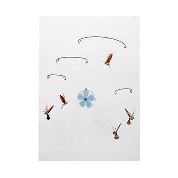 Timberbayhome & Garden Hummingbird Mobile Color: Green