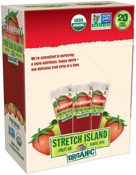 Stretch Island® Strawberry Organic Fruit Strips 20-0.5 oz. Packs