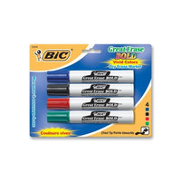 Claridge Products LCS Dry Erase Markers, Black, Broad Tip