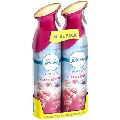 Air Effects Febreze Air Effects Fresh Twist Cranberry Air Freshener (2  Count, 19.4 Oz